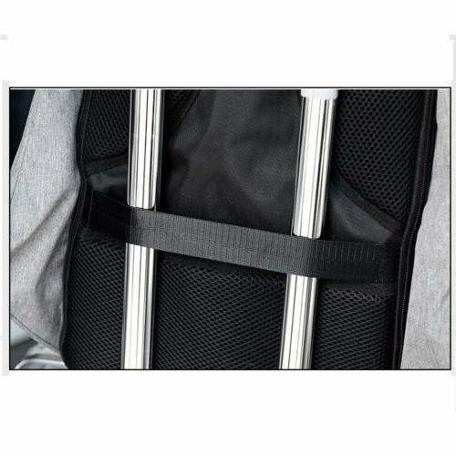 Unisex Anti-Theft Backpack Travel School USB Charging