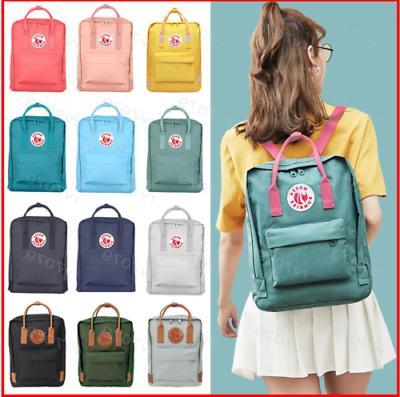 unisex fjallraven kanken backpack handbag outdoor travel