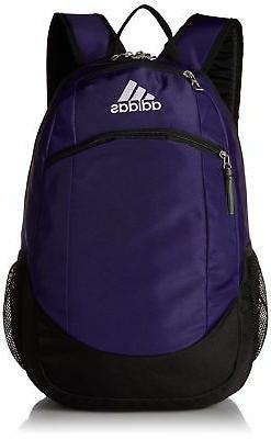 adidas Unisex Striker II Team Backpack, Collegiate Purple/Bl