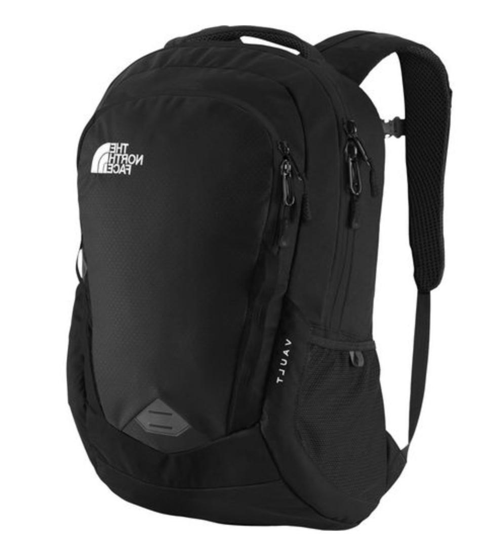 unisex vault backpack black 100 percent authentic
