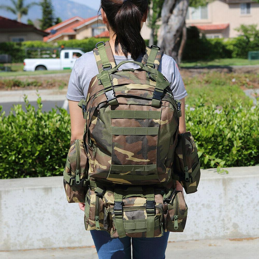 US 55L Molle Military Tactical Bag Hiking