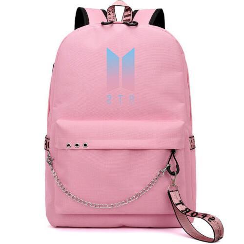 US STOCK BTS Bangtan Boy BookTravel Bag USB
