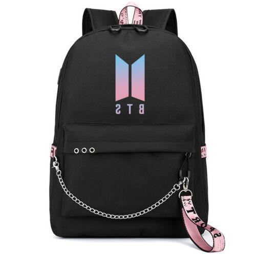 US BTS Bangtan BookTravel Shoulder Bag USB M