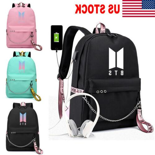 us stock backpack kpop bts bangtan boy