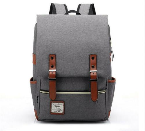 US Backpack School Travel Rucksack Laptop Satchel