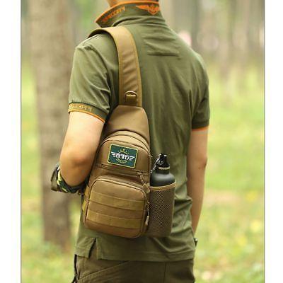 US Waterproof Tactical Backpack Sports Shoulder Bags Shoulder Crossbody
