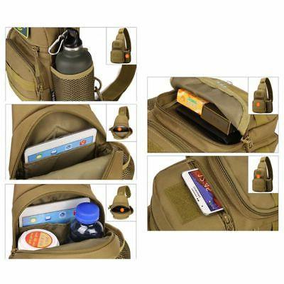 US Waterproof Tactical Backpack Sports Bag Shoulder Shoulder Crossbody Bags