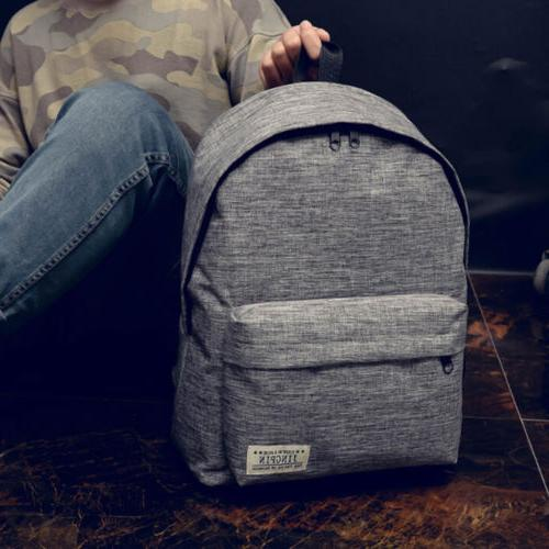 US Backpack Book Bags Teenage Girls Hiking Bag