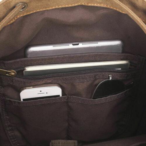 US Backpack School Book Teenage Girls Travel Bag