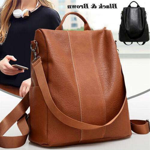 USA Anti-Theft Bag Black/Brown