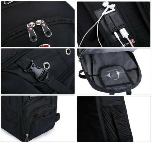 """USB 16"""" Laptop Gear Travel School Bags"""