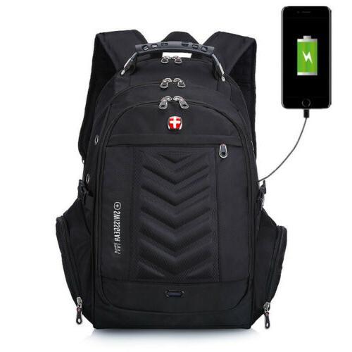 usb 16 laptop swiss gear backpack waterproof