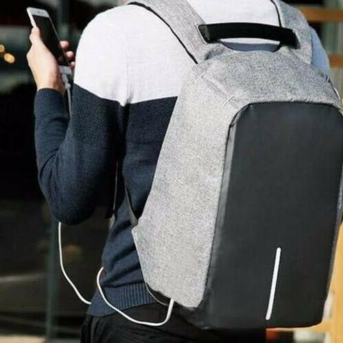 USB Charging Anti-Theft Womens Backpack Laptop Travel