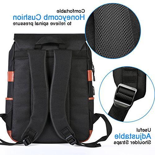 Modoker Vintage for Port Backpack Fits 15 inch Notebook