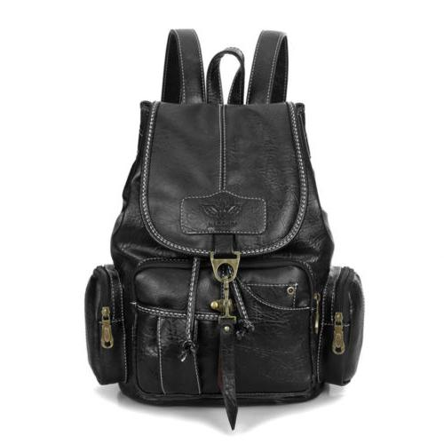 Vintage Backpack Shoulder School Shoulder HandBag