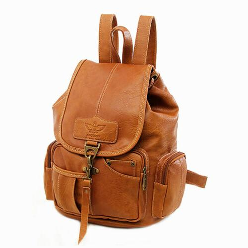 Vintage Leather Shoulder Shoulder HandBag Travel