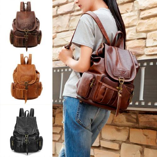 Vintage Leather Shoulder HandBag Travel