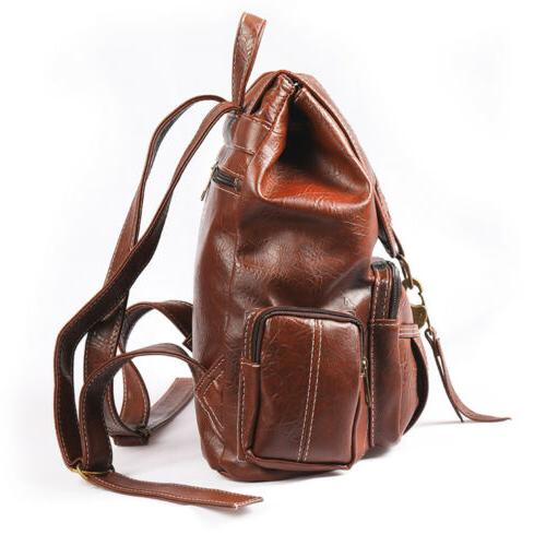 Vintage Women Backpack Travel Hand Shoulder Bag