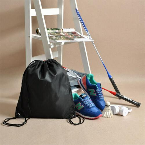 Water-Proof Solid Color Drawstring Backpack Bag