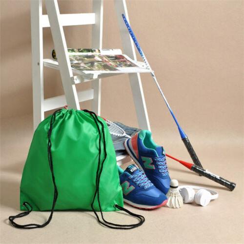 Water-Proof Color Drawstring Backpack Travel Bag -Backpack