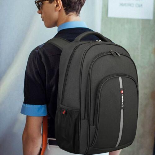 """Waterproof 15.6"""" Laptop Heavy-duty Bookbag School Bag USB"""
