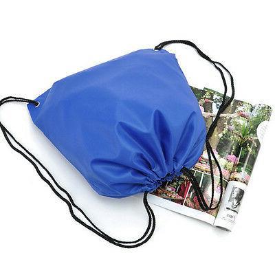 Waterproof Sack String Gym Tote School