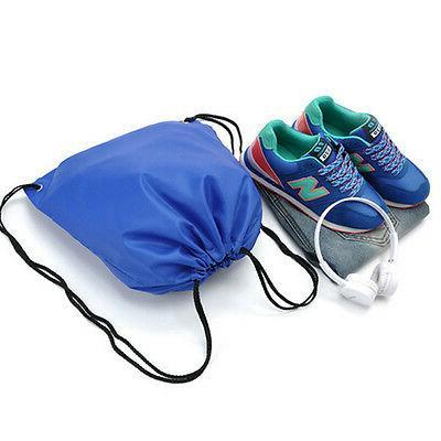 Waterproof Backpack Cinch Sack Bag Gym Tote School