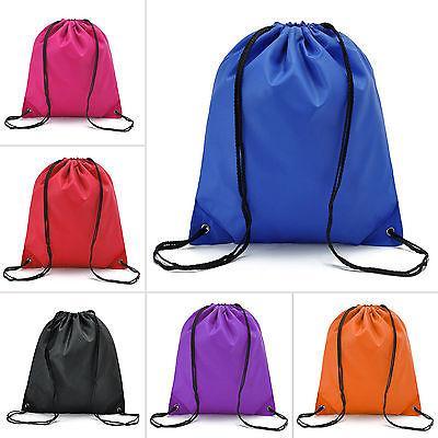 waterproof drawstring backpack cinch sack string bag
