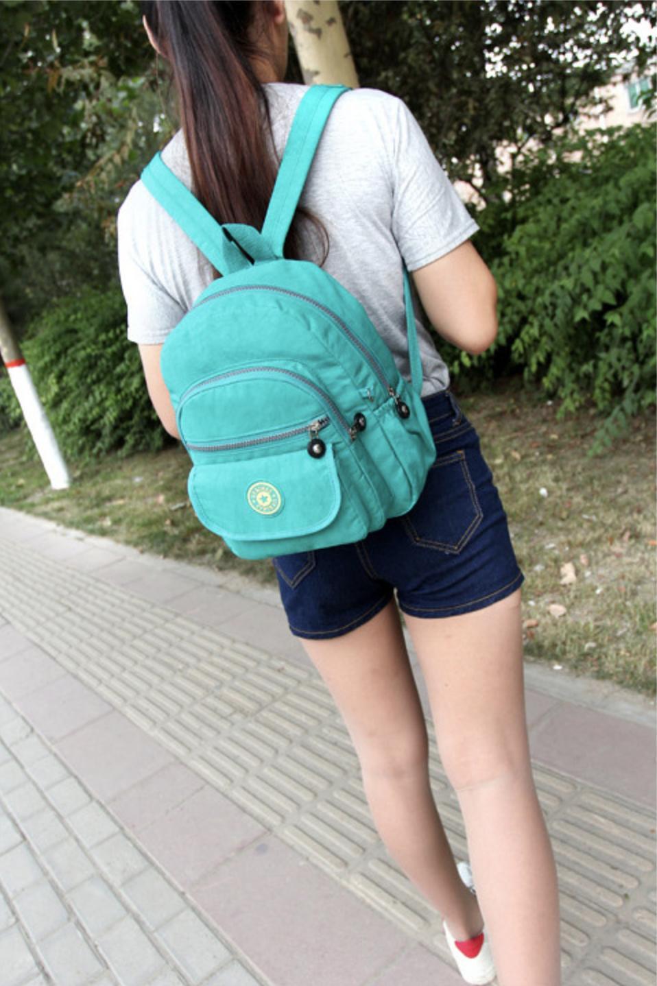 Waterproof Purse Rucksack Small Travel Bag