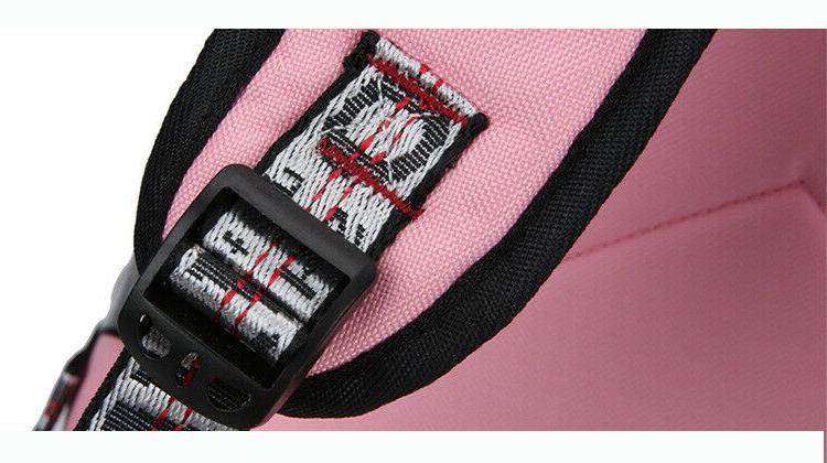 Women Canvas Girls School Bag Backpack Waterproof Theft