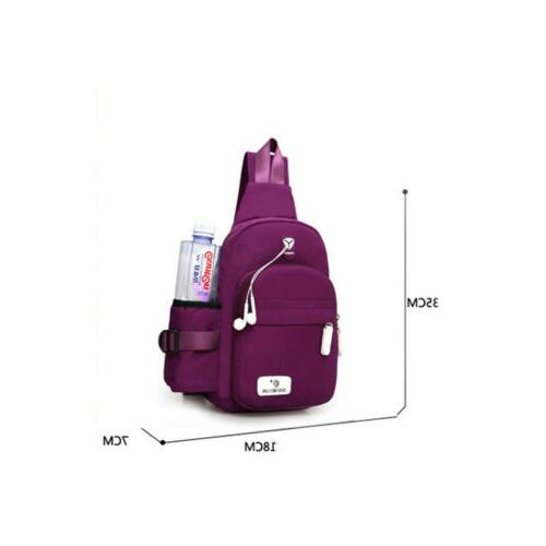 Women Nylon Mini Shoulder School
