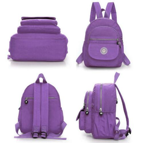 Women Backpack Travel Nylon Handbag Shoulder School