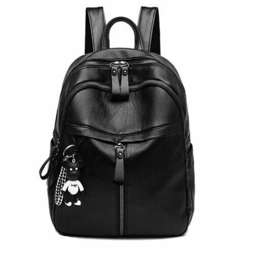 women girls lady backpack rucksack travel shoulder