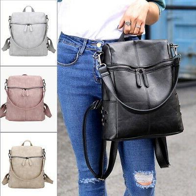 women pu leather shoulder bags waterproof travel