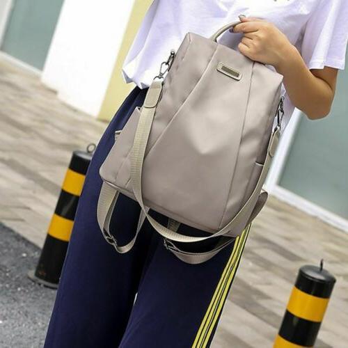 Waterproof Backpack Women Oxford Nylon Shoulder Rucksack Tra