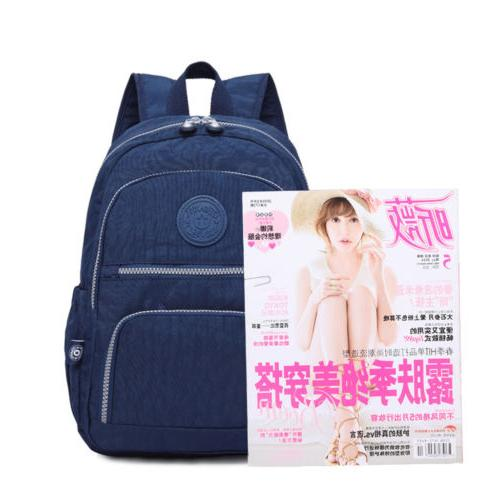 Women School Bag Girl Mochila Nylon