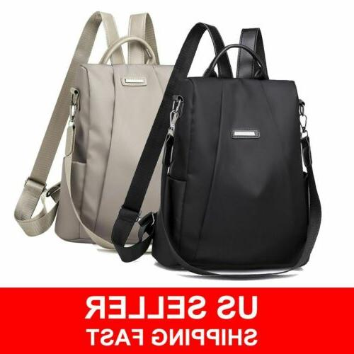 women waterproof oxford cloth travel backpack nylon