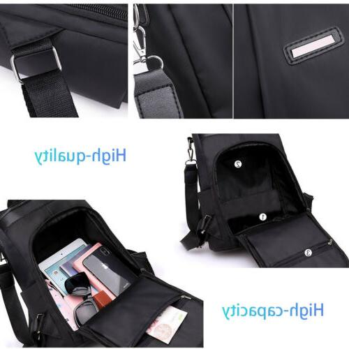Women Cloth Travel Anti-theft Shoulder Rucksack