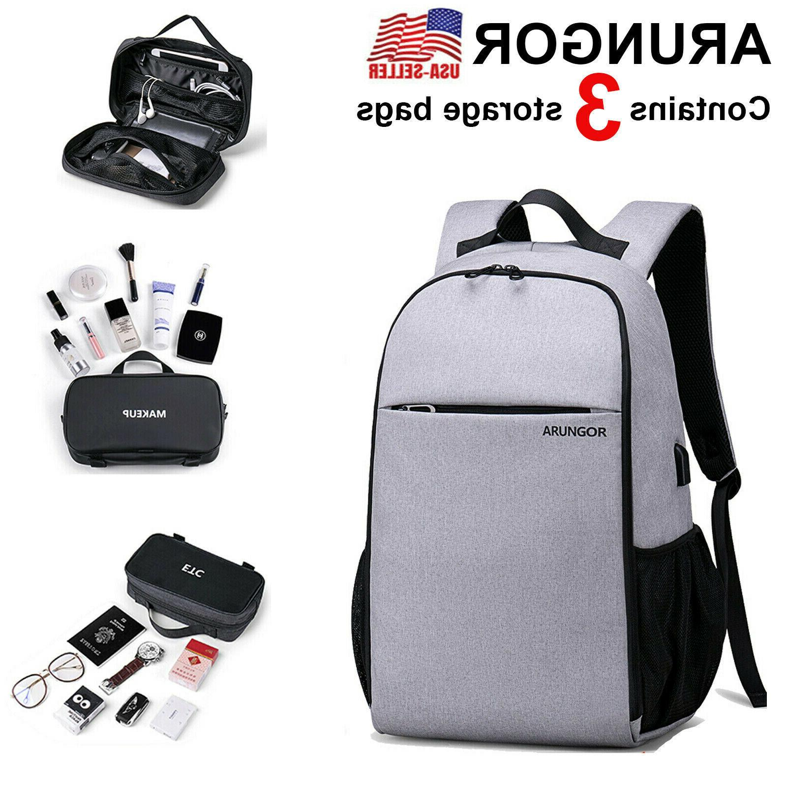 womens unisex laptop backpack usb travel college