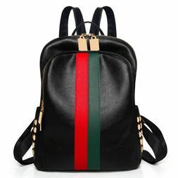 Ladies Backpack Luxury Leather Bag Pattern Tote Handbag Gift