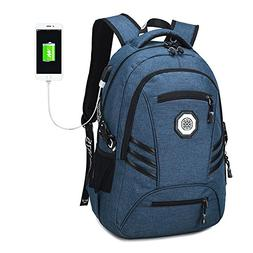 Travel Laptop Backpack, Slim College School Backpack with US