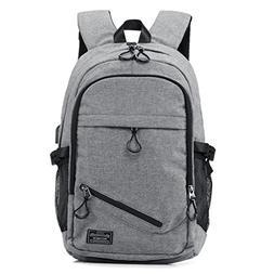 """KEYNEW 15.6"""" Waterproof Canvas Laptop Backpack for Men wit"""