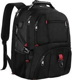 Extra Large Backpack,TSA Friendly Travel Laptop Backpack for
