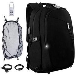 Cafele Laptop Backpack,Travel Computer Bag for Women & Men,A