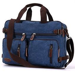 Laptop Backpack,Hybrid Multifunction Briefcase Messenger Bag