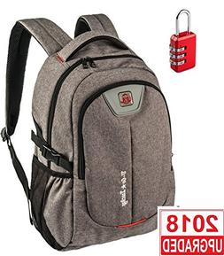 Laptop Backpack for Men Women - Fits up to 17 inch Laptop Co