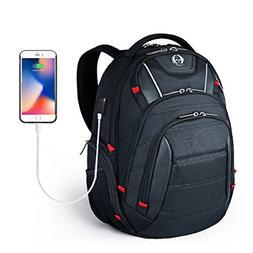 Laptop Backpack,Swissdigital Busniess Travel Polyester Backp