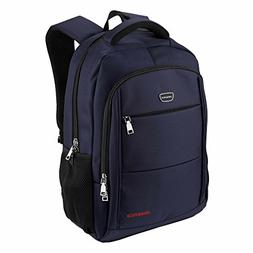 Laptop Backpack Water Resistant Polyester Fabric Daypack for