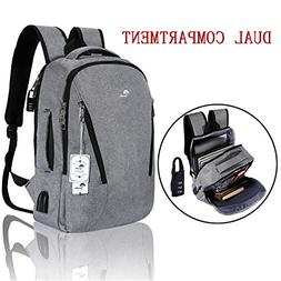 Laptop Backpack,Anti Theft College Backpack with USB Charg
