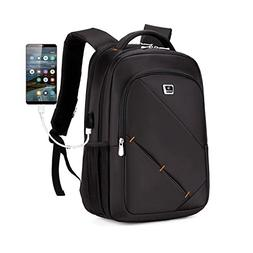 """Laptop Backpack 18"""" x 12"""" x 8"""" Business Backpack Placed 15.6"""